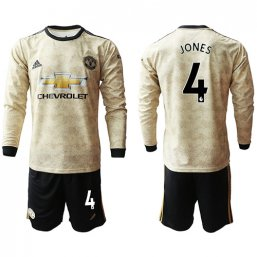 Manchester United Manga larga de la 3ª equipación 2019/20 #4 JONES