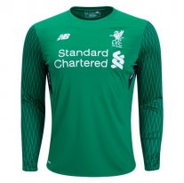 New Balance Liverpool Long Sleeve Home Portero Jersey 17/18