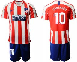 Camiseta Atletico Madrid 1ª Equipación 2019/20 #10 CARRASCO