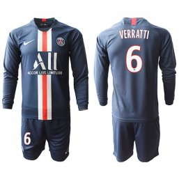 Paris St. Germain Manga larga Camiseta de la 1ª equipación 2019/20 #6 VERRATTI
