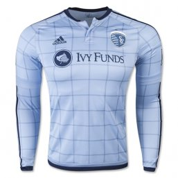 Sporting KC 2015 LS Authentic 1ª EQUIPACIÓN CAMISETAS DE FÚTBOL