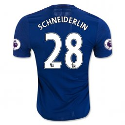 Manchester United 16/17 SCHNEIDERLIN Authentic Camiseta de la 2ª equipación
