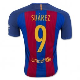 Barcelona 16/17 SUAREZ Authentic Camiseta de la 1ª equipación