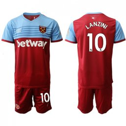 Camiseta del West Ham United 1ª 2019/20 #10 LANZINI