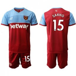 Camiseta del West Ham United 1ª 2019/20 #15 SAKHP