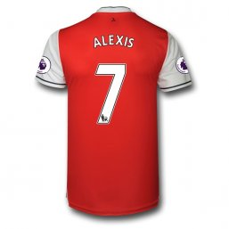 Arsenal 16/17 7 ALEXIS Authentic Camiseta de la 1ª equipación