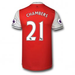 Arsenal 16/17 21 CHAMBERS Authentic Camiseta de la 1ª equipación