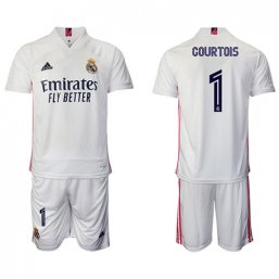 Real Madrid Camiseta de la 1ª equipación 2020/2021 #1 COURTOIS
