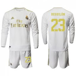 Real Madrid Manga larga Camiseta de la 1ª equipación 2019/20 #23 REGUILON