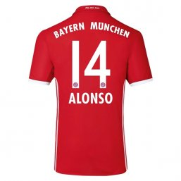 Bayern Munich 16/17 ALONSO Authentic Camiseta de la 1ª equipación
