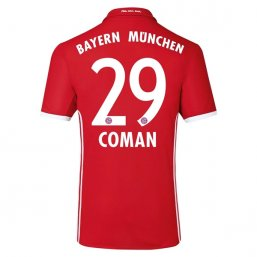 Bayern Munich 16/17 COMAN Authentic Camiseta de la 1ª equipación