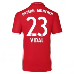 Bayern Munich 16/17 VIDAL Authentic Camiseta de la 1ª equipación