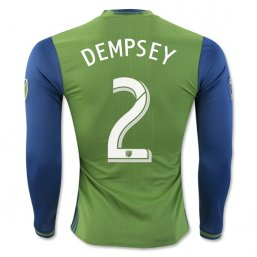 Seattle Sounders 2016 DEMPSEY LS Authentic 1ª EQUIPACIÓN CAMISETAS DE FÚTBOL