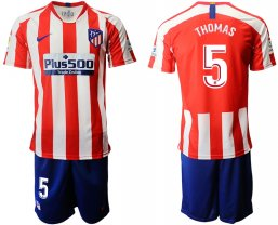 Camiseta Atletico Madrid 1ª Equipación 2019/20 #5 THOMAS