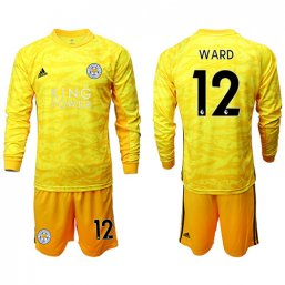 Leicester City Amarillo portero de manga larga 2019/20 #12 WARD