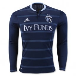 Sporting KC 2016 LS Authentic Away CAMISETAS DE FÚTBOL