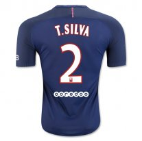 Paris Saint-Germain 16/17 T. SILVA Authentic Camiseta de la 1ª equipación