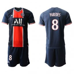 Paris Saint-Germain Camiseta de la 1ª equipación 2020/21 #8 PAREDES