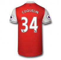 Arsenal 16/17 34 COQUELIN Authentic Camiseta de la 1ª equipación
