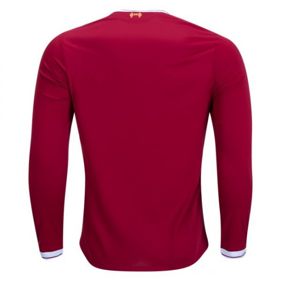 New Balance Liverpool Long Sleeve Home Jersey 17/18