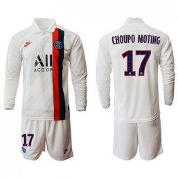 Paris St. Germain Manga larga Camiseta de la 3ª equipación 2019/20 #17 CHOUPO MOTING