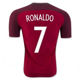 Portugal 2016 RONALDO Authentic Camiseta de la 1ª equipación