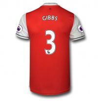 Arsenal 16/17 3 GIBBS Authentic Camiseta de la 1ª equipación