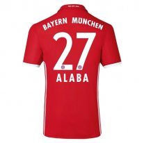 Bayern Munich 16/17 ALABA Authentic Camiseta de la 1ª equipación