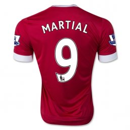 Manchester United 15/16 Anthony Martial Authentic Camiseta de la 1ª equipación