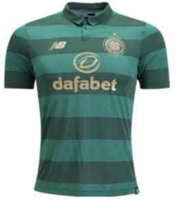 Camiseta Celtic Football Club 2ª Equipación 17/18