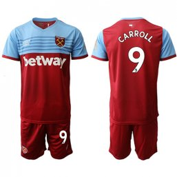 Camiseta del West Ham United 1ª 2019/20 #9 CARROLL