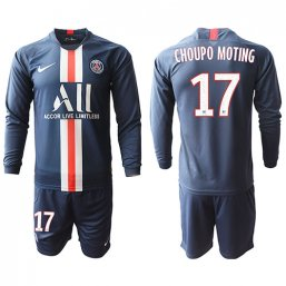 Paris St. Germain Manga larga Camiseta de la 1ª equipación 2019/20 #17 CHOUPO MOTING