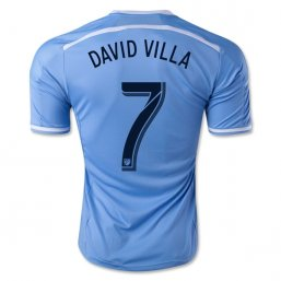 New York City FC 2015 DAVID VILLA 1ª EQUIPACIÓN CAMISETAS DE FÚTBOL