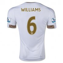 Swansea City 15/16 WILLIAMS Camiseta de la 1ª equipación