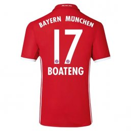 Bayern Munich 16/17 BOATENG Authentic Camiseta de la 1ª equipación