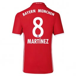 Bayern Munich 16/17 MARTINEZ Authentic Camiseta de la 1ª equipación