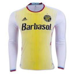 Columbus Crew 2016 LS Authentic Away CAMISETAS DE FÚTBOL