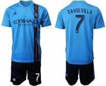 New York City FC David Villa 2019/20 1ª EQUIPACIÓN CAMISETAS DE FÚTBOL