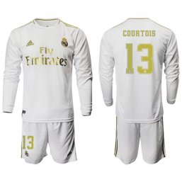 Real Madrid Manga larga Camiseta de la 1ª equipación 2019/20 #13 COURTOIS