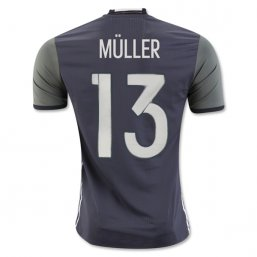 Germany 2016 MULLER Authentic Camiseta de la 2ª equipación