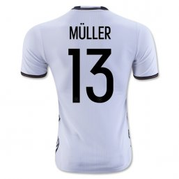 Germany 2016 MULLER Authentic Camiseta de la 1ª equipación