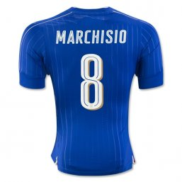 Italy 2016 MARCHISIO Authentic Camiseta de la 1ª equipación