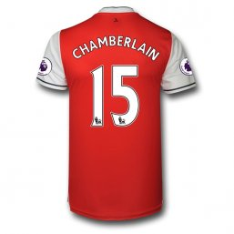 Arsenal 16/17 15 CHAMBERLAIN Authentic Camiseta de la 1ª equipación