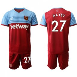Camiseta del West Ham United 1ª 2019/20 #27 PAYET