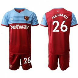 Camiseta del West Ham United 1ª 2019/20 #26 MASUAKU