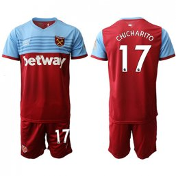 Camiseta del West Ham United 1ª 2019/20 #17 CHICHARITO