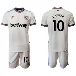 Camiseta del West Ham United 2ª 2019/20 #10 LANZINI