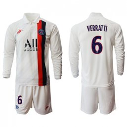 Paris St. Germain Manga larga Camiseta de la 3ª equipación 2019/20 #6 VERRATTI