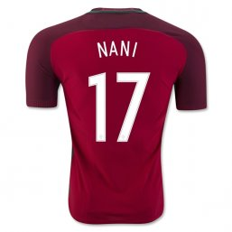 Portugal 2016 NANI Authentic Camiseta de la 1ª equipación