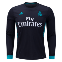 Camiseta de la 2ª equipación Real Madrid Long Sleeve 17/18